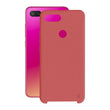 Mobile cover Xiaomi Mi 8 Lite KSIX Soft Red