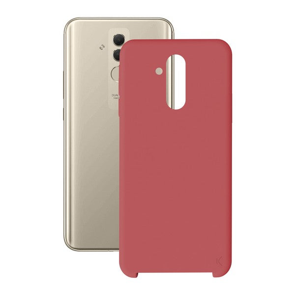 Mobile cover Huawei Mate 20 Lite KSIX Soft Red