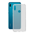 Mobile cover Huawei Y6 2019 KSIX Flex TPU Transparent