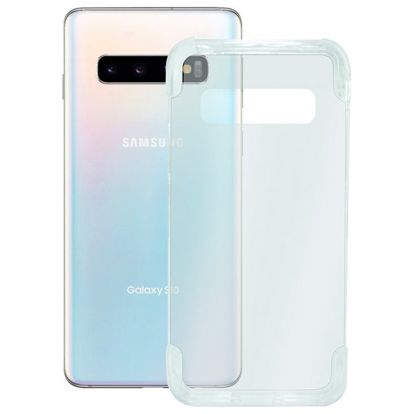 Mobile cover Samsung Galaxy S10 KSIX Armor Extreme Transparent