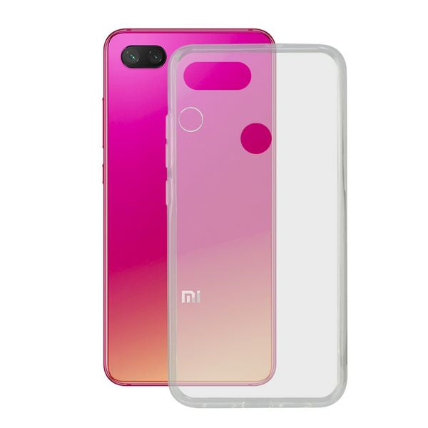 Mobile cover Xiaomi Mi 8 Lite KSIX Flex TPU Transparent
