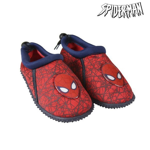 Children's Socks Spiderman Blue Red