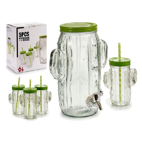 Cup with Straw (3,8 l) (4 pcs)