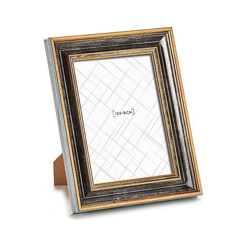 Photo frame Golden (2 x 24 x 19 cm) (13 x 18 cm)