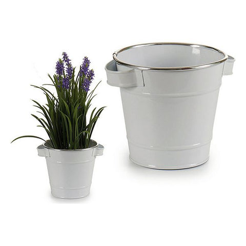 Planter Metal With handles (16,3 x 14,5 x 20 cm)