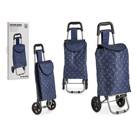 Shopping cart Dark blue (87 x 35 x 28 cm)
