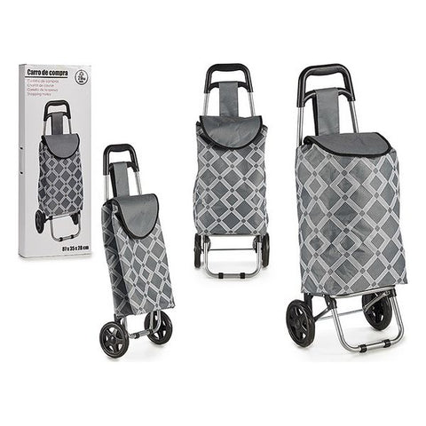 Shopping cart Grey (87 x 35 x 28 cm)