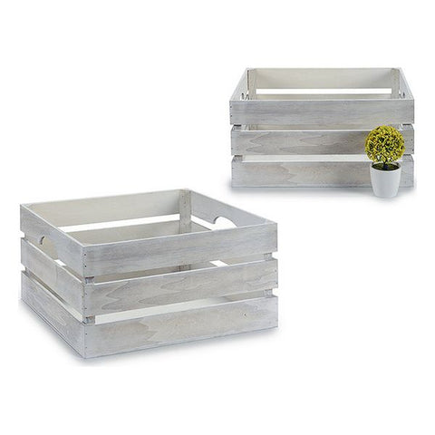 Storage Box (31 x 20 x 41 cm) White