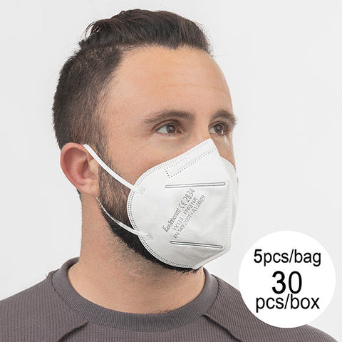 Protective Respirator Mask FFP2 NR YX135 5 layers (pack of 30)