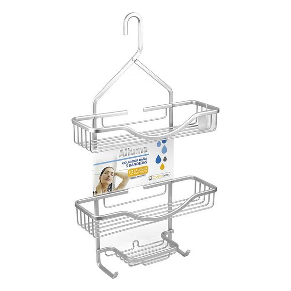 Shelves Confortime Alluma (3 Shelves) (35,6 x 12 x 63,5 cm)