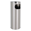Waaste Paper Bin with Ashtray Confortime Metal (20 X 59 cm)