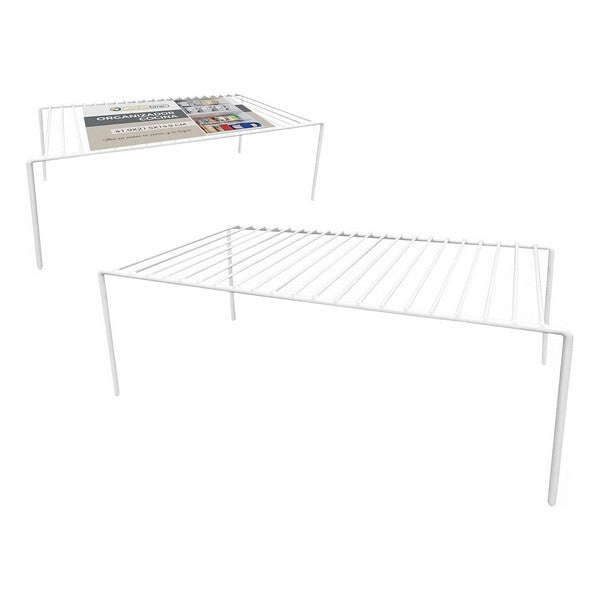 Kitchen Cupboard Organiser Confortime Metal White (41,9 x 21 x 14,9 cm)