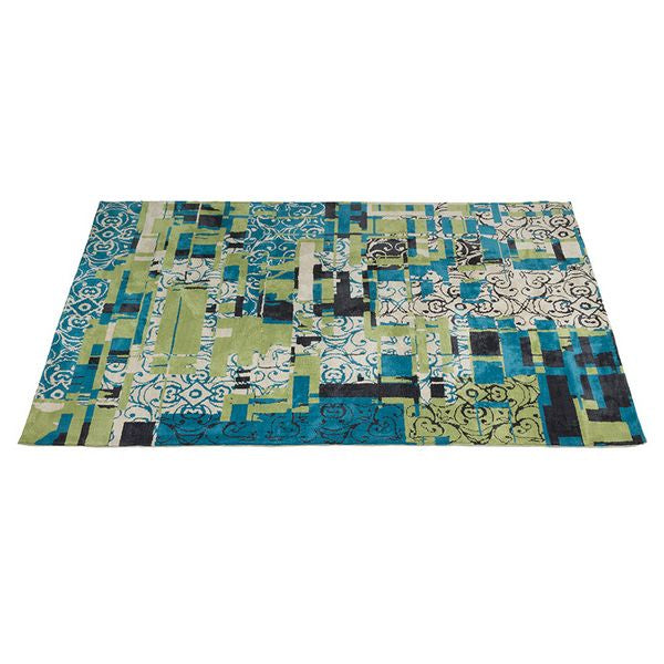 Carpet (240 x 170 x 3 cm) Blue