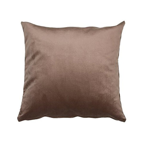 Cushion Velvet 47020 Polyester Brown