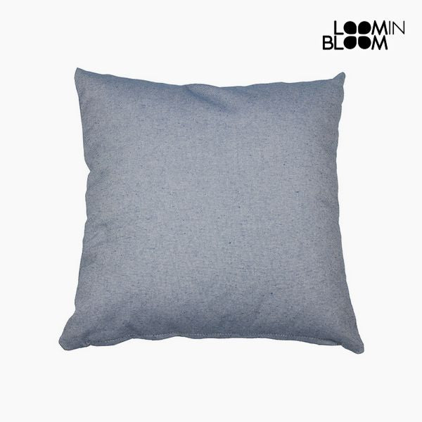 Cushion (45 x 45 x 10 cm) Cotton and polyester Blue