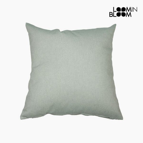 Cushion (45 x 45 x 10 cm) Cotton and polyester Green