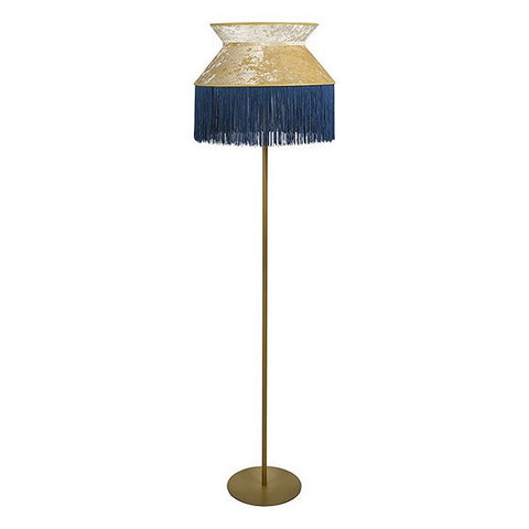 Floor Lamp Cancan Velvet (45 x 45 x 155 cm)