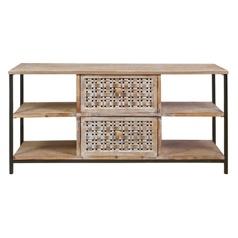 Television stand Boston Fir wood (120 x 41 x 57 cm)