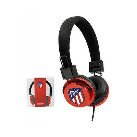 Headphones with Headband Atlético Madrid Red