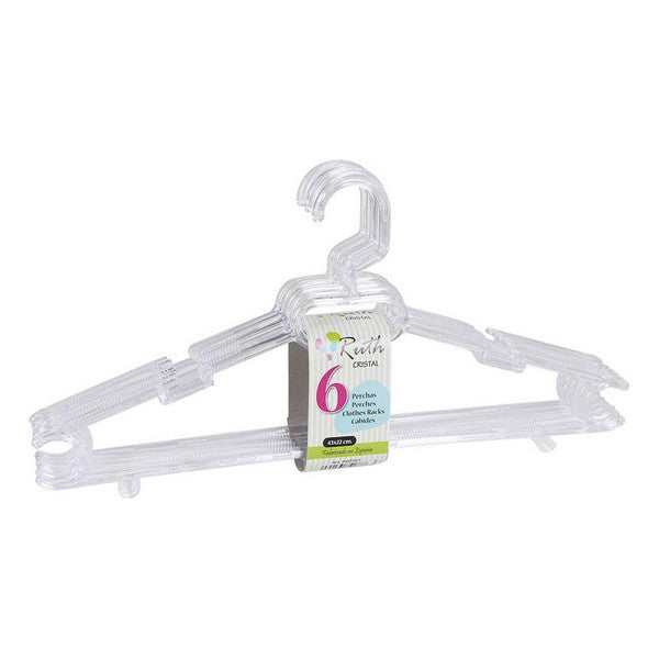 Hangers Ruth White (6 Uds)