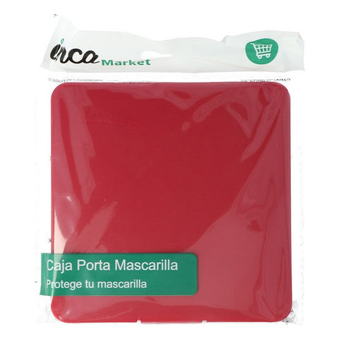 Portable Mask Case FFP2 Inca Burgundy