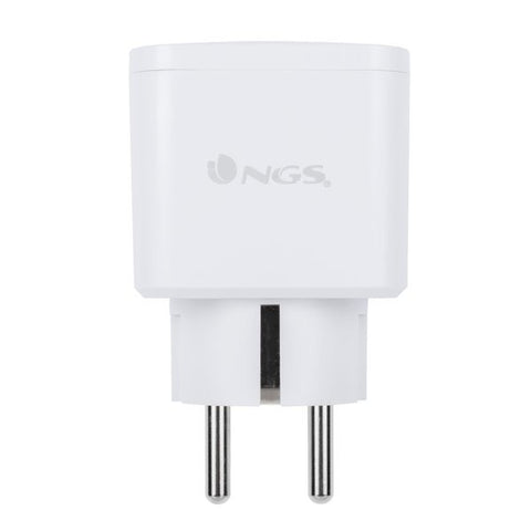 Smart Plug NGS Loop Track Duo 16W White (2 pcs)