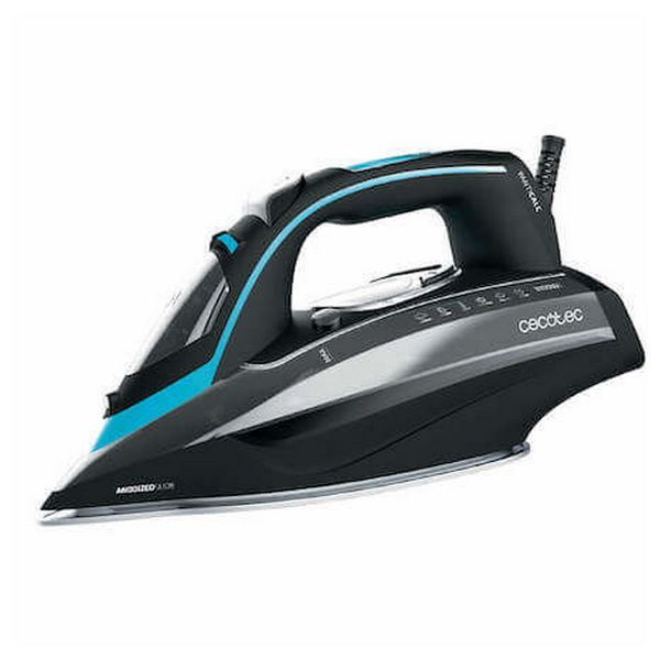 Steam Iron Cecotec 3D ForceAnodized 750 Smart 400 ml 3100W Black Blue