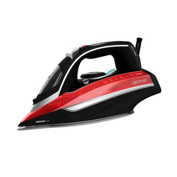 Steam Iron Cecotec 3D ForceAnodized 850 i-Pump 400 ml 3100W Black Red