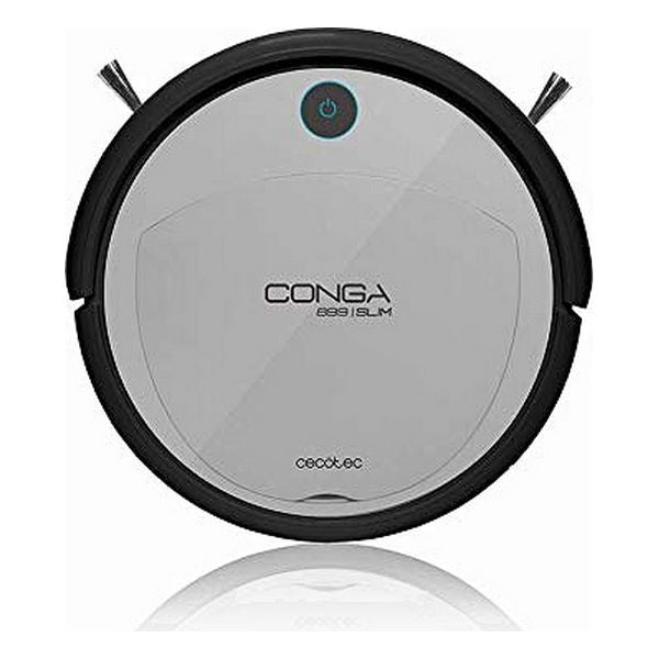 Robot Vacuum Cleaner Cecotec Conga 899 Slim Wet 300 ml 70 dB Black Silver