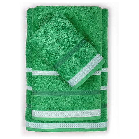 Towel set Benetton Rainbow Green (3 pcs)