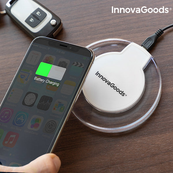 Qi Wireless Charger for Smartphones Wh InnovaGoods