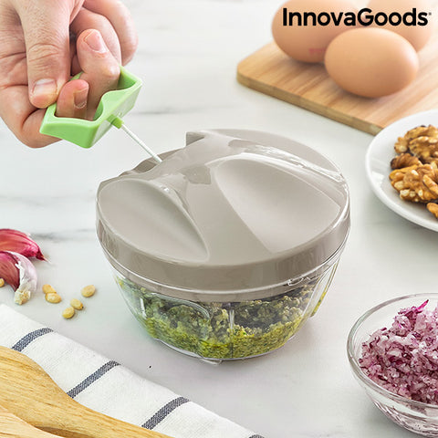 Manual mini chopper with pull cord Spinop InnovaGoods