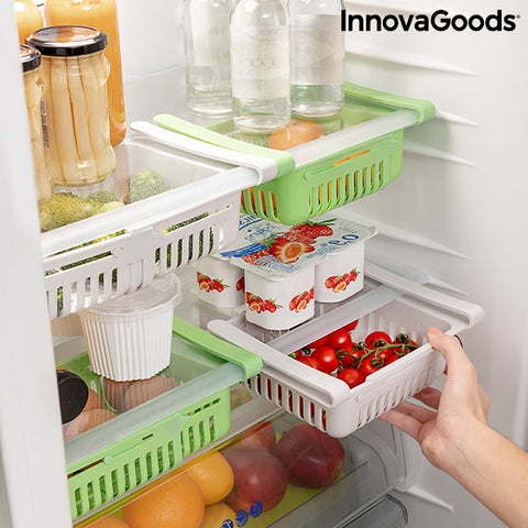 Adjustable Fridge Organiser Friwer InnovaGoods (pack of 2)