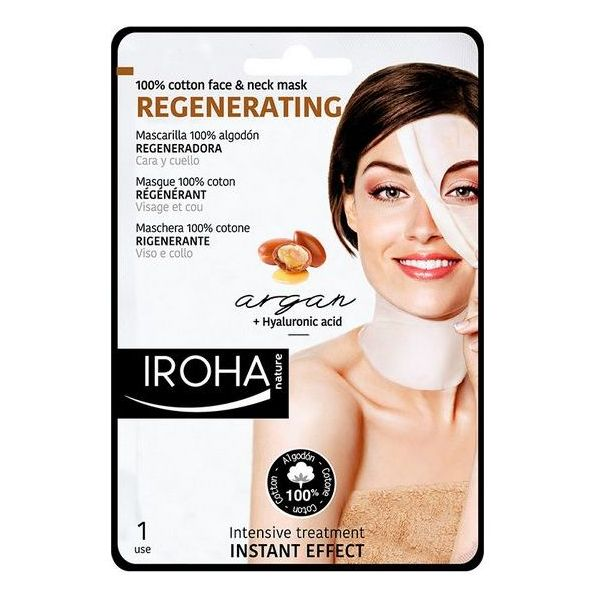 Anti-Ageing Revitalising Mask Cotton Face & Neck Iroha