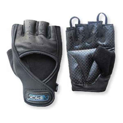 Weight Lifting Gloves Atipick Go-Gel Black