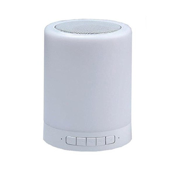 Bluetooth loudspeaker with LED light CoolBox COO-BTALED-R1 3W White