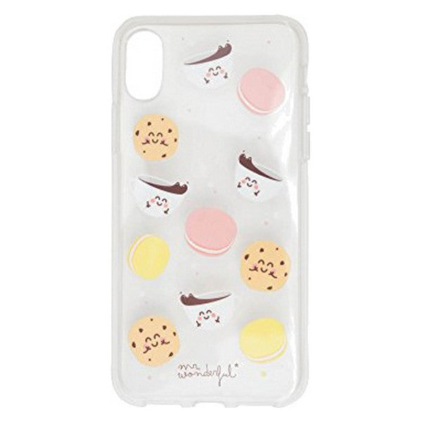 Mobile cover Iphone X Mr. Wonderful MRCAR112 Breakfast