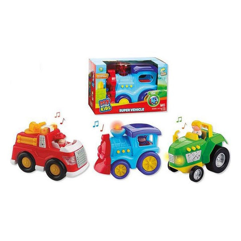 Car Interactive Toy with sound Light