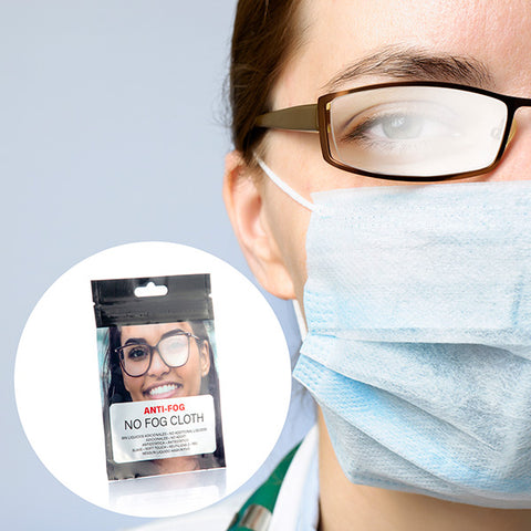Anti-fog Wipes for Glasses (pack of 50)