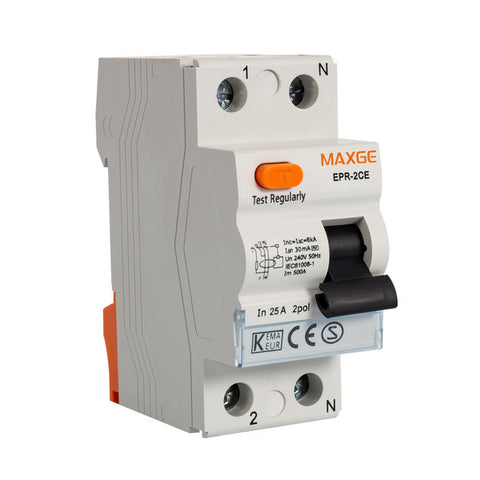 Residential Differential Circuit Breaker MAXGE (230 V)