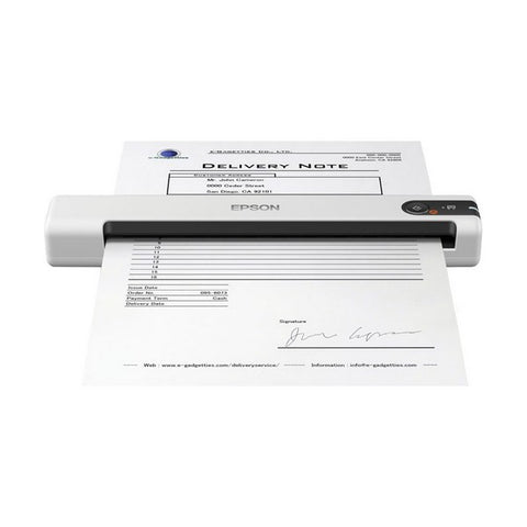 Portable Scanner Epson WorkForce DS-70 600 dpi USB 2.0 White