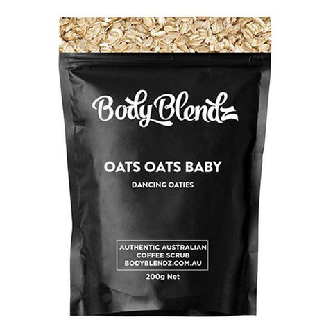 Body Exfoliator Oats Oats Baby Dancing Oaties Body Blendz