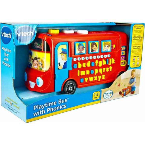 Bus Vtech Baby with sound Red (Refurbished C)