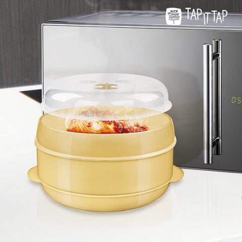 Tap It Tap Microwave Steamer System