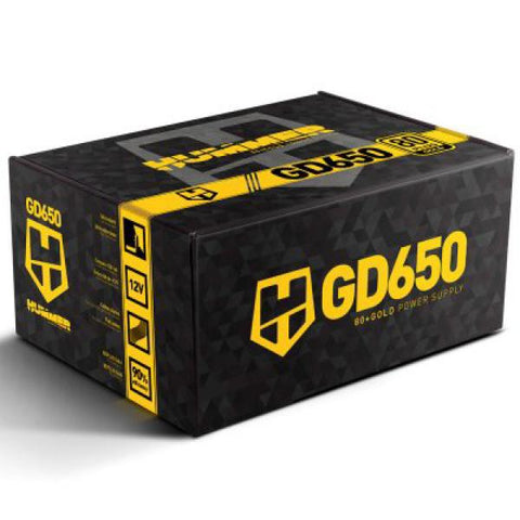 Power supply NOX Hummer GD650 80 Plus GOLD 650W