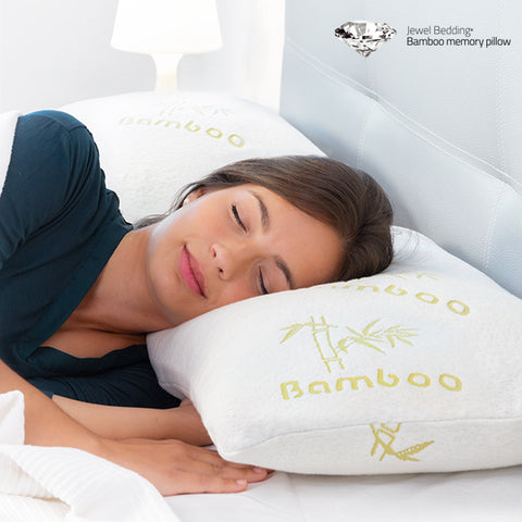 Bamboo Jewel Bedding Memory Foam Pillow