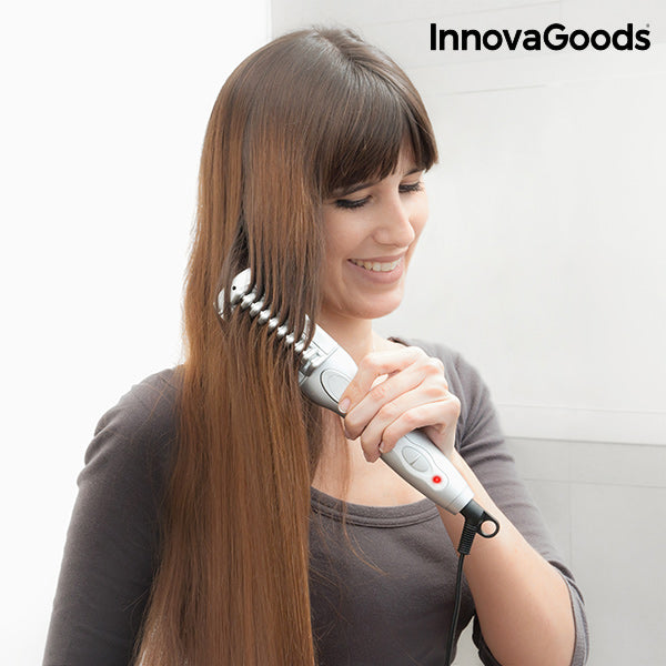 InnovaGoods Electric Hair Straightening Brush  25W