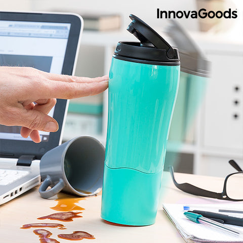 InnovaGoods Anti-Tipping Thermos Mug