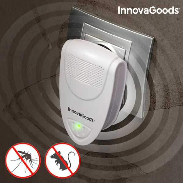 InnovaGoods Mini Ultrasonic Pest Repeller