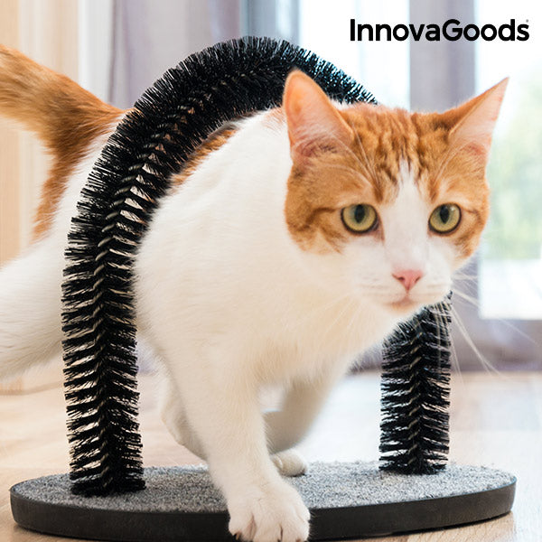 InnovaGoods Scratcher and Grooming Arch for Cats